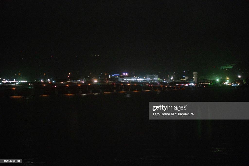 Nagasaki airport (NGS) in Japan : ストックフォト