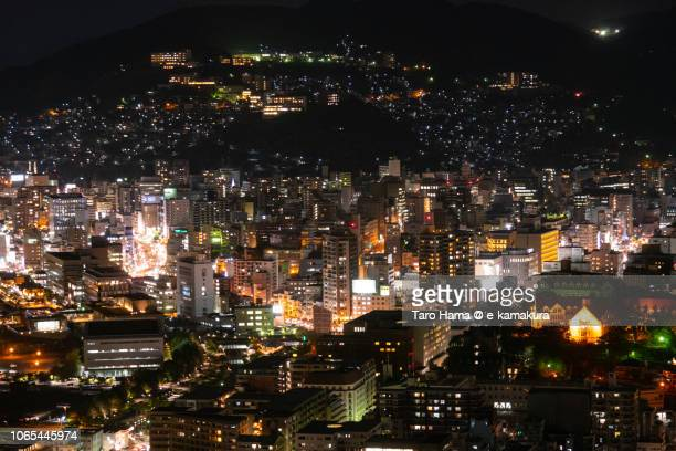 Nagasaki city in the night