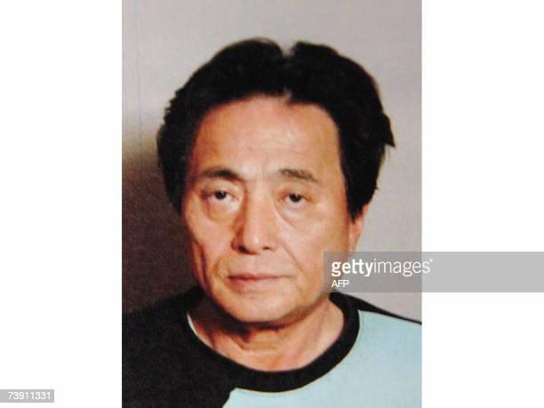 This undated picture shows Tetsuya Shiroo who shot Nagasaki Mayor Iccho Ito dead at Nagasaki city southern island of Kyushu 17 April 2007 Ito was a...