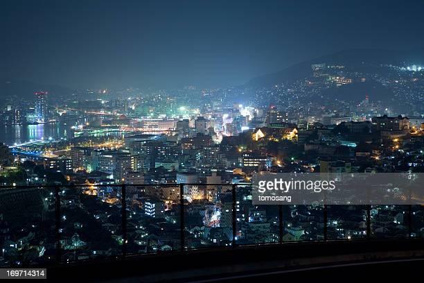 Nagasaki night panorama