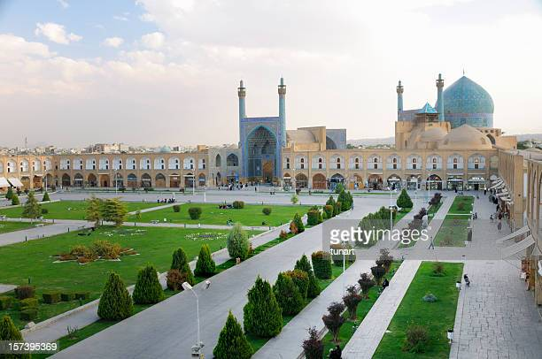 naghsh-i jahan square, isfahan, iran - imam stock photos and pictures