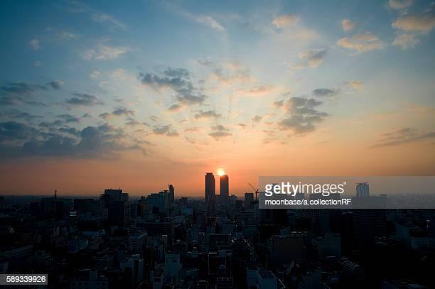 Nagoya at Sunrise