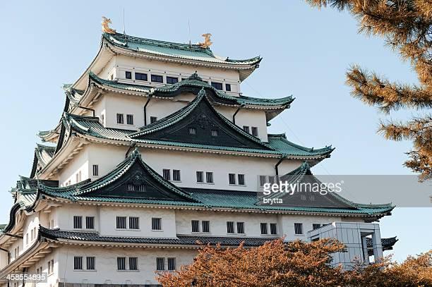nagoya castle - nagoya stock pictures, royalty-free photos & images