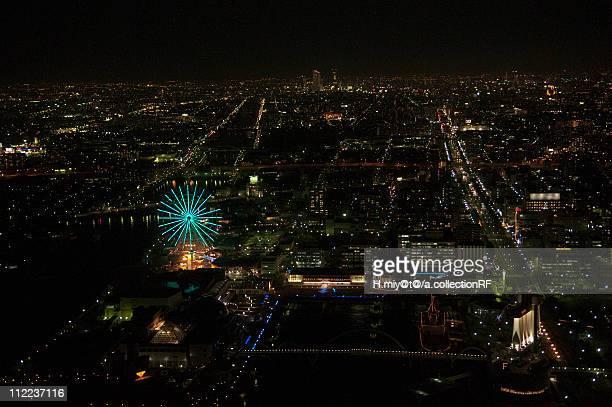 nagoya city at night - 名古屋 ストックフォトと画像