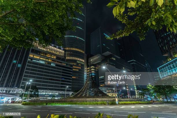 nagoya city center - aichi prefecture stock pictures, royalty-free photos & images