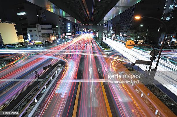nagoya expressway tohshincho - 名古屋 ストックフォトと画像