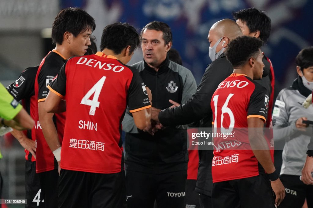 Yokohama F.Marinos v Nagoya Grampus - J.League Meiji Yasuda J1 : ニュース写真