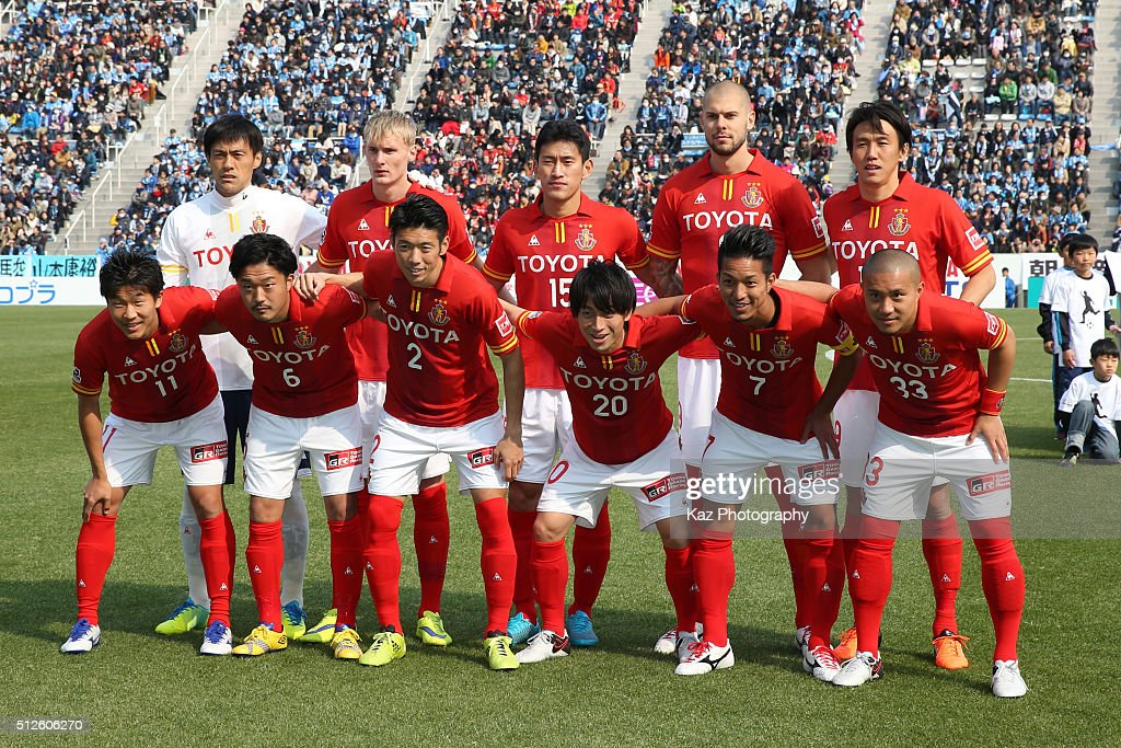 Jubilo Iwata v Nagoya Grampus - J.League : News Photo