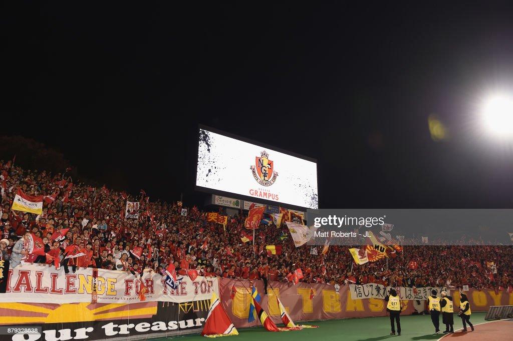 Nagoya Grampus v JEF United Chiba - J.League J1 Promotion Play-Off : ニュース写真