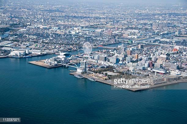 nagoya harbor - nagoya stock pictures, royalty-free photos & images