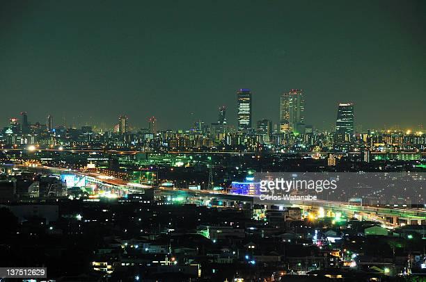 Nagoya lights at night