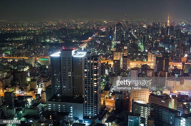 Nagoya night view