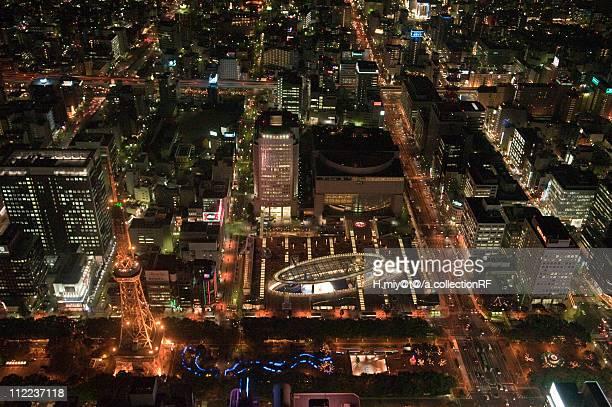 Nagoya Oasis 21 at Night