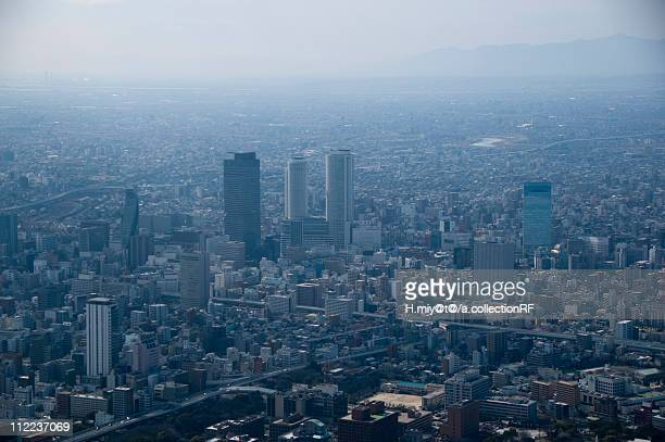 Nagoya Station (Meieki), Aerial view