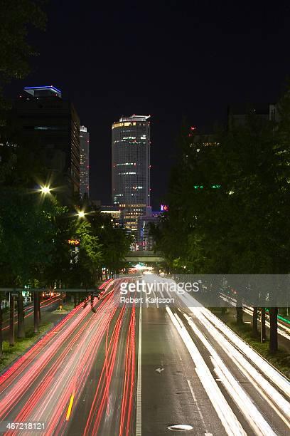 Nagoya Station Sakura Dori at night