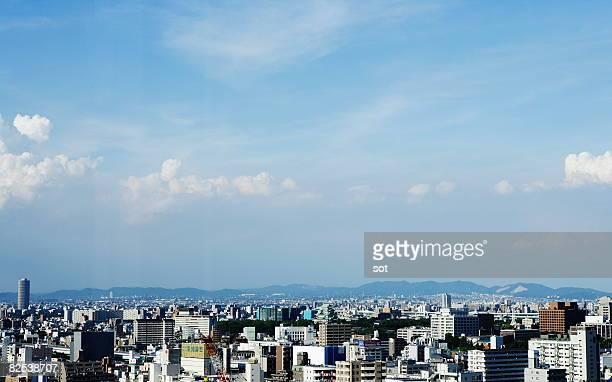 nagoya,cityscape, aerial view - 名古屋 ストックフォトと画像