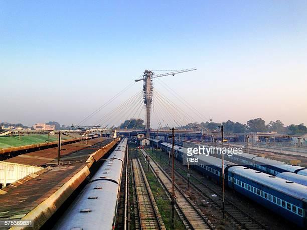 nagpur railway station - ナグプール ストックフォトと画像