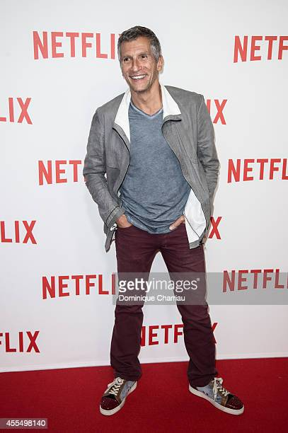 Nagui attends the 'Netflix' Launch Party At Le Faust In Paris on September 15 2014 in Paris France