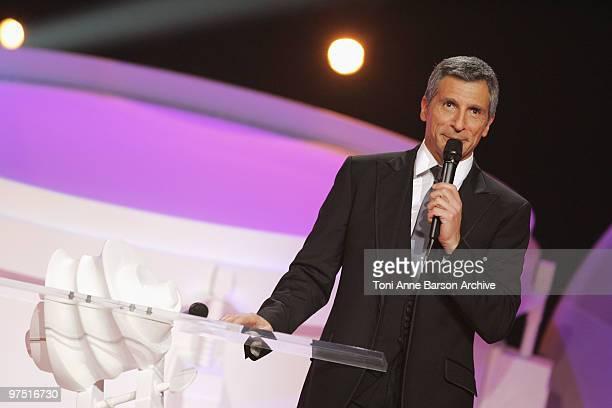 Nagui cohosts the 25th Victoires de la Musique at Zenith de Paris on March 6 2010 in Paris France