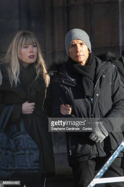 Nagui during Johnny Hallyday's funeral at Eglise De La Madeleine on December 9 2017 in Paris France France pays tribute to Johnny Hallyday the French...