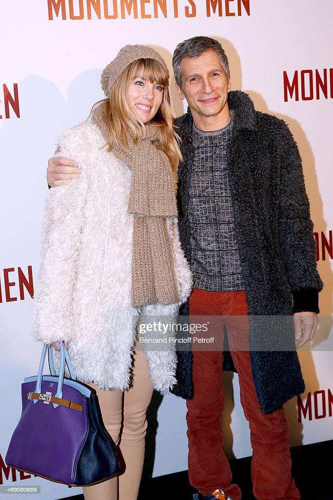 'Monuments Men' : Premiere  At Cinema UGC Normandie In Paris