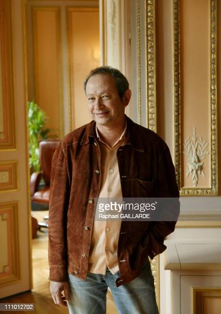 Naguib Sawiris at his Paris office in Paris France on April 20th 2005