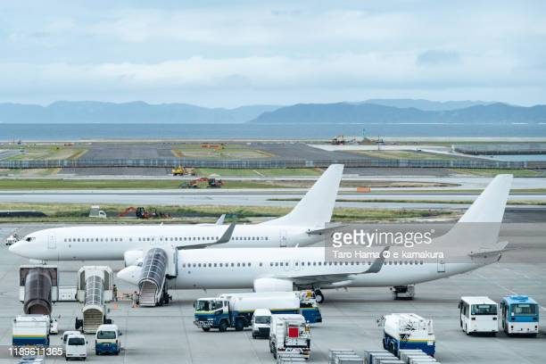 naha airport (oka) in okinawa prefecture of japan - %e... ストックフォトと画像