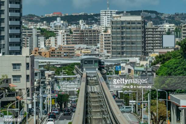 naha city in okinawa prefecture of japan - taro hama ストックフォトと画像