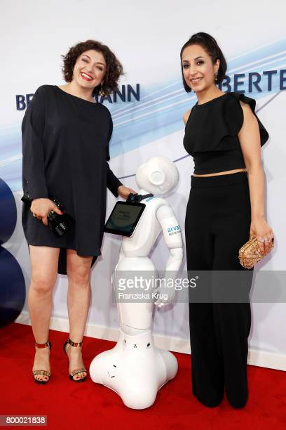 Nahid Shahalimi and Laila Hamidi attend the 'Bertelsmann Summer Party' at Bertelsmann Repraesentanz on June 22 2017 in Berlin Germany