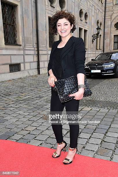 Nahid Shahalimi attends the AMADE Deutschland Charity dinner on June 14 2016 in Munich Germany