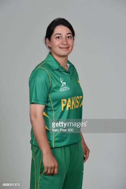 Nahida Khan of Pakistan on June 19 2017 in Leicester England