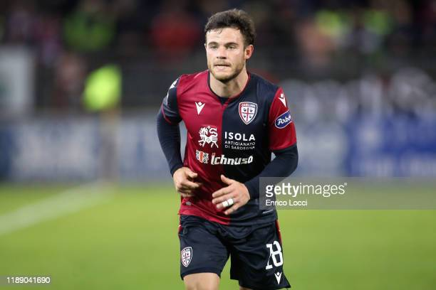 Nahitan Nandez of Cagliari looks on during the Serie A match between Cagliari Calcio and SS Lazio at Sardegna Arena on December 16 2019 in Cagliari...