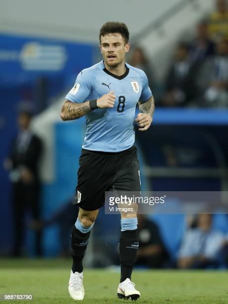 Nahitan Nandez of Uruguay during the 2018 FIFA World Cup Russia round of 16 match between Uruguay and at the Fisht Stadium on June 30 2018 in Sochi...