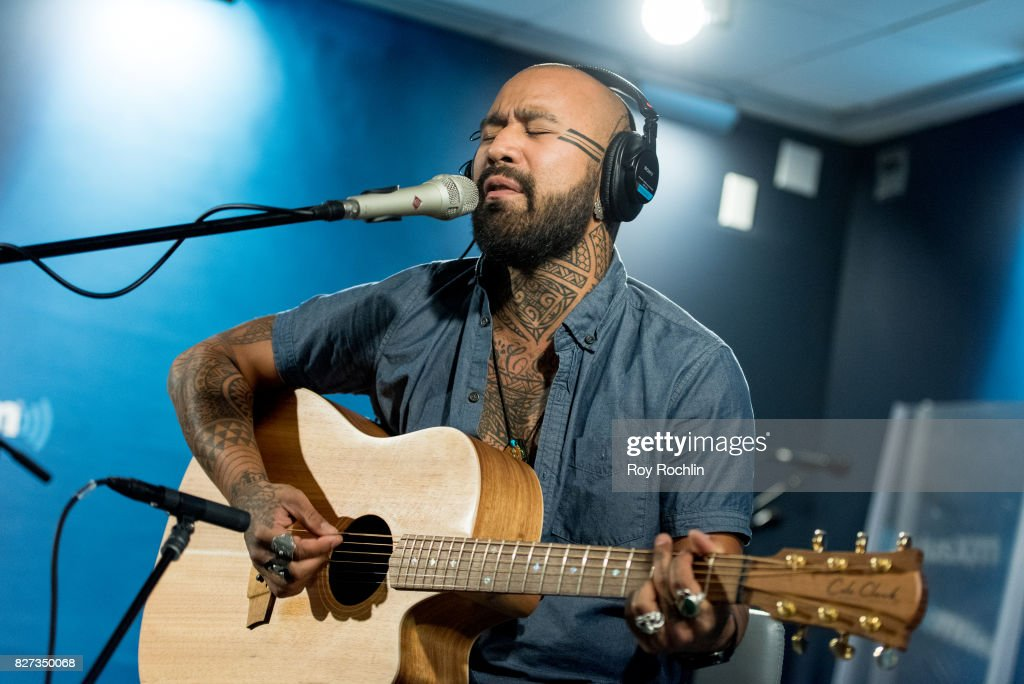 Nahko visits Sirius XM at SiriusXM Studios on August 7, 2017 in New York City.