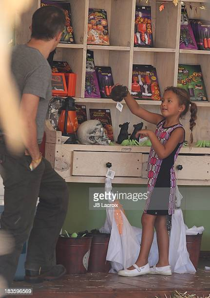 Nahla Ariela Aubry is seen at the Pumpkin Patch on October 7 2013 in Los Angeles California