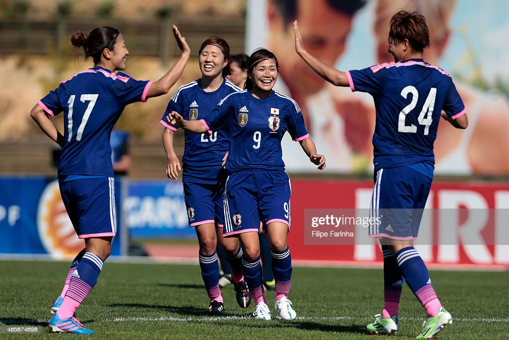 Japan v France - Women's Algarve Cup 2015