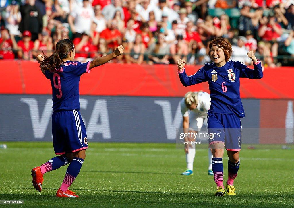Japan v England: Semi Final - FIFA Women's World Cup 2015 : News Photo