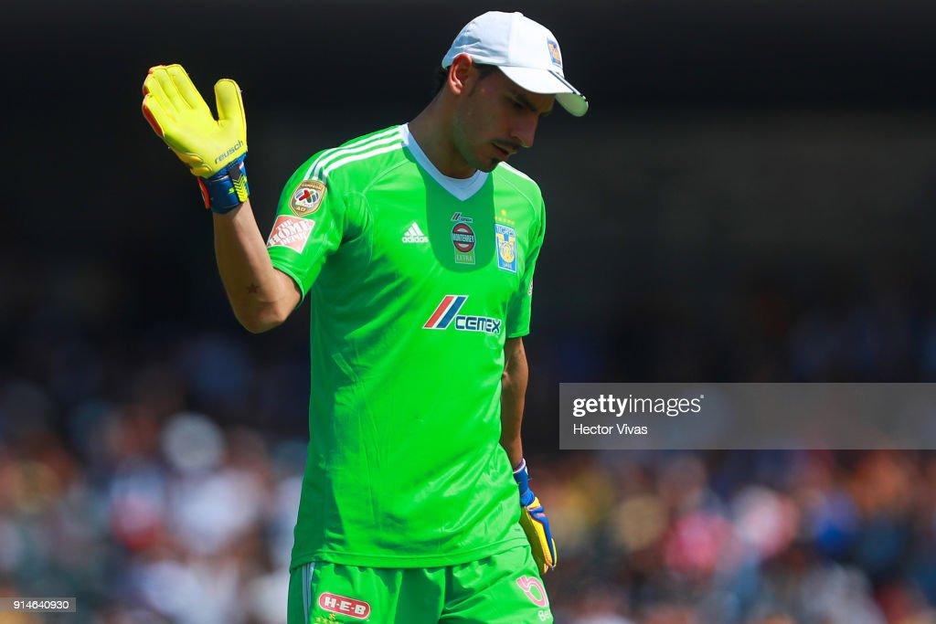 Pumas UNAM v Tigres UANL - Torneo Clausura 2018 Liga MX