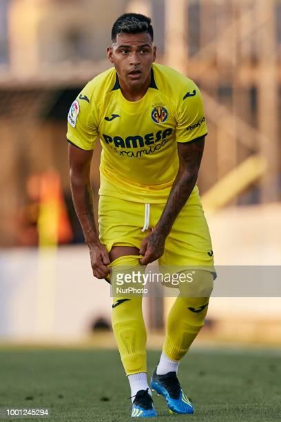 Nahuel of Villarreal CF looks on during the PreSeason Friendly match between Villarreal CF and Hercules CF at Mini Estadi on July 17 2018 in Vilareal...