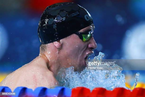 Nahuel Orellana of Argentina competes in Men's 200 m Individual Medley SM8 during day 6 of the Para Swimming World Championship Mexico City 2017 at...