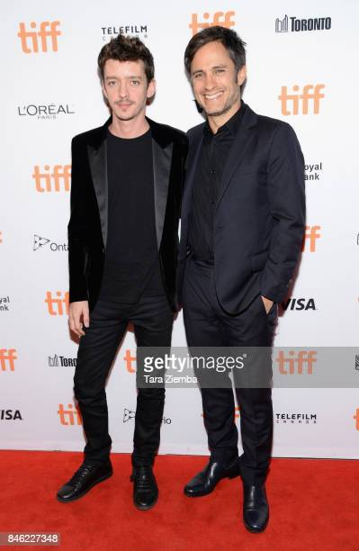 Nahuel Perez Biscayart and Gael Garcia Bernal attend the 'If You Saw His Heart' premiere during the 2017 Toronto International Film Festival at...