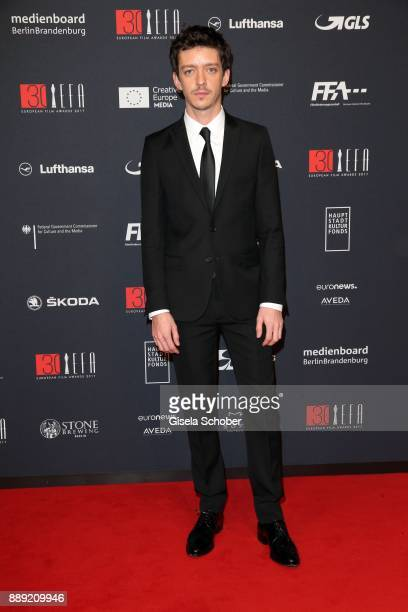Nahuel Perez Biscayart during the 30th European Film Awards 2017 at 'Haus der Berliner Festspiele' on December 9 2017 in Berlin Germany