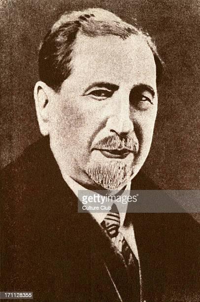 Nahum Sokolov / Nahum Sokolow portrait Zionist leader author translator and pioneer of Hebrew journalism