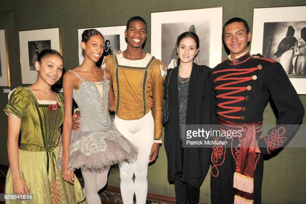 Naiara Lopes Adji Cissoko James Applewhite Melanie Hamrick and Lamin Pereira attend AMERICAN BALLET THEATRE's JUNIOR COUNCIL Host an Evening at THE...