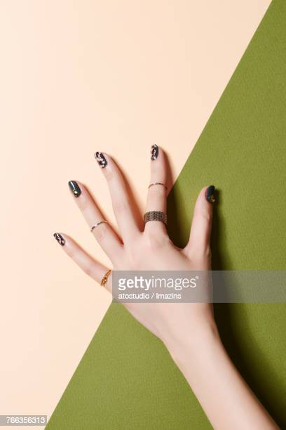 nail art - nail art stock pictures, royalty-free photos & images