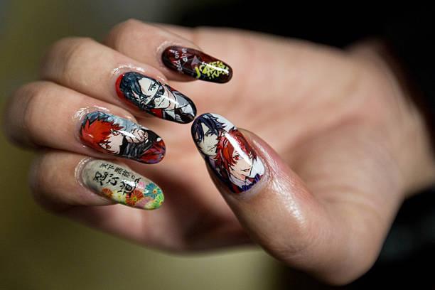 Fotos En Beelden Van Anime Nail Salon In Japan Getty Images