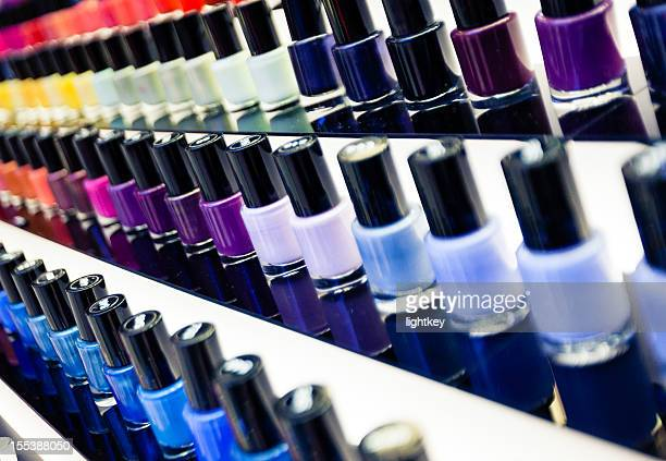 nail polishes - nail varnish stock pictures, royalty-free photos & images