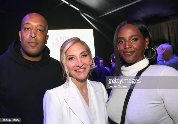 Naim McNair President of Caroline Jaqueline Saturn and Motown Records President Ethiopia Habtemariam attend Sir Lucian Grainge's 2019 Artist Showcase...