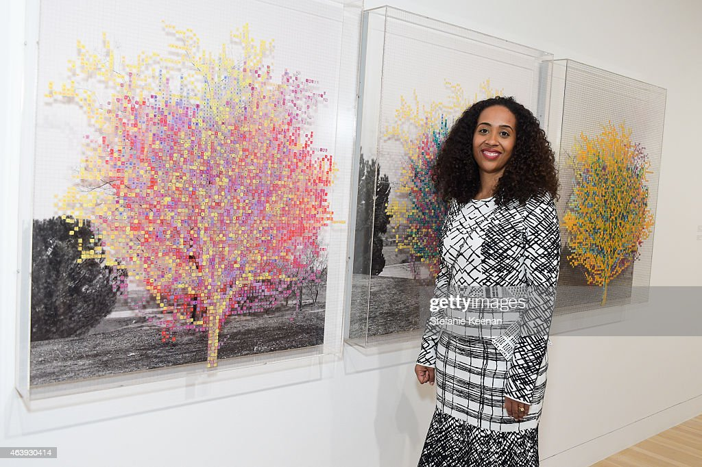 Naima Keith attends Hammer Museum's Provocations Presented In Partnership With Burberry - Members' Opening on February 19, 2015 in Los Angeles, California.