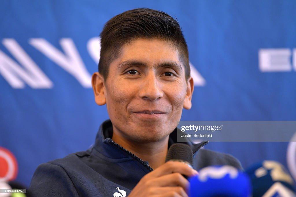 106th Tour de France 2019 - Movistar Team Press Conference : ニュース写真